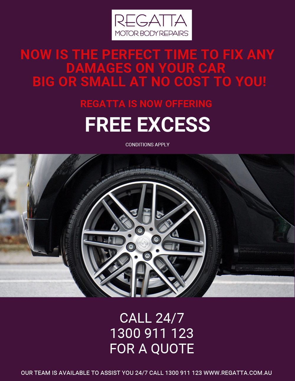 Free Excess Offer